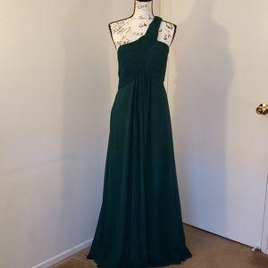 One Shoulder Evening Dress size 14